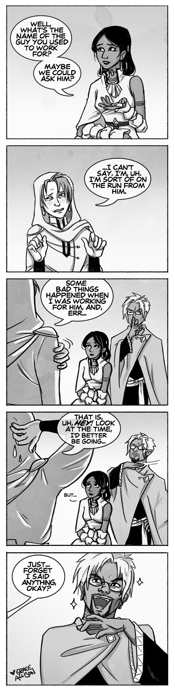 Guest Comic by Grace Allison